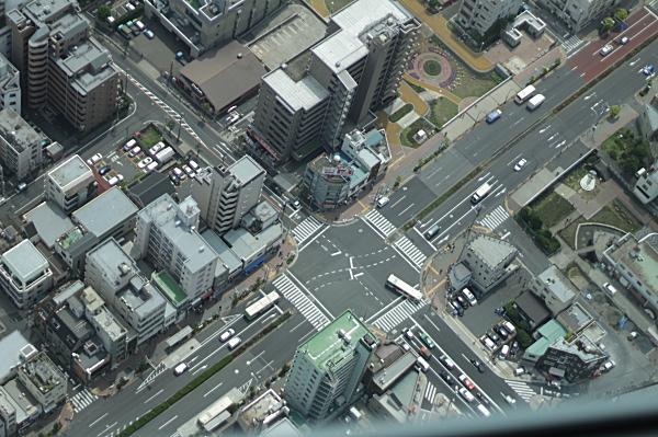 東京スカイツリーからみる風景