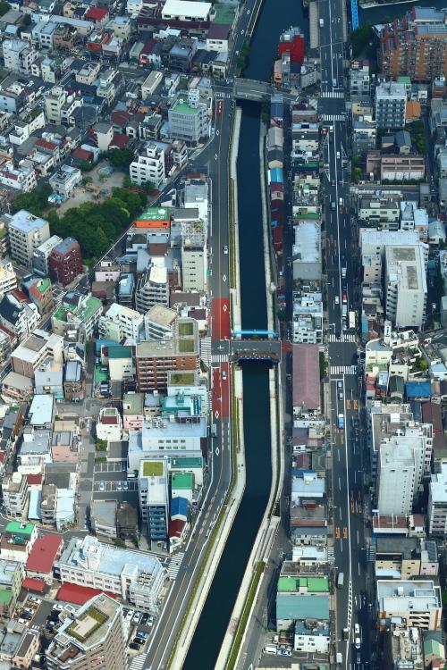 東京スカイツリーから見た風景